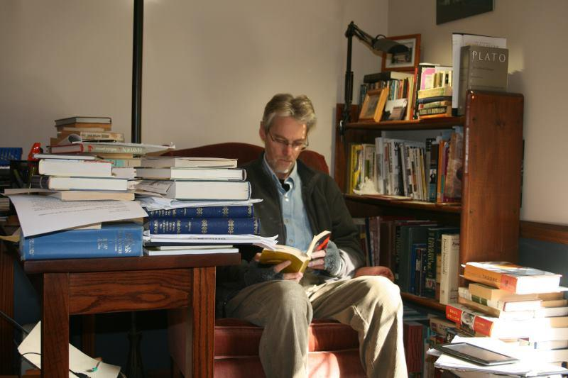 Reading in my Library, October 13, 2011